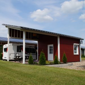 Cottages with bathroom and kitchen - Emsland Camping