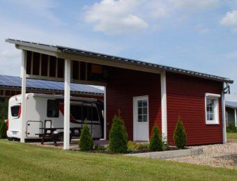 Ferienhaus mit Bad und Küche - Emsland Camping