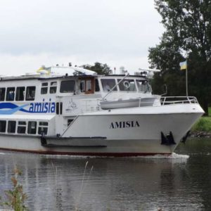 Trips in the region Emsland - Cruise on the river Ems with the cruise vessel Amisia