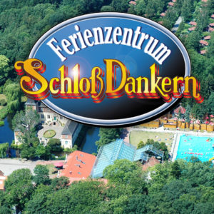 Trips with children- Schloss Dankern: playground, minigolf, High Rope Course, Slides, swimming bath