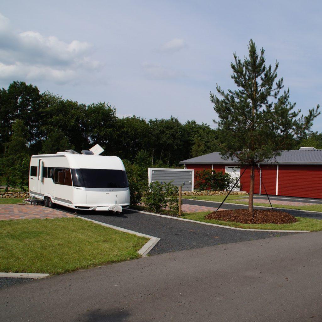 Emsland Camping - Stellplatz mit privatem Bad