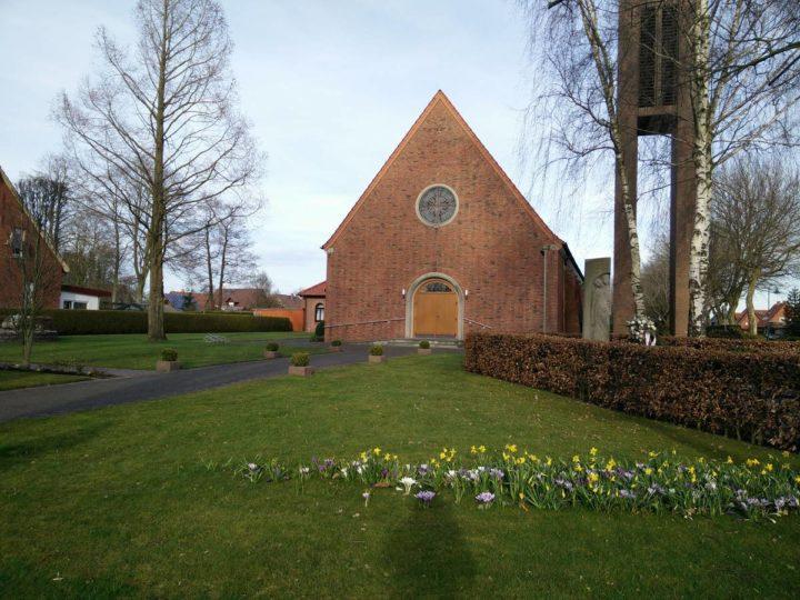 Kirche St. Gerhard Majelle in Fehndorf