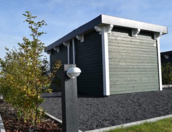 Stellplatz Green Camping mit Badezimmer auf der Parzelle