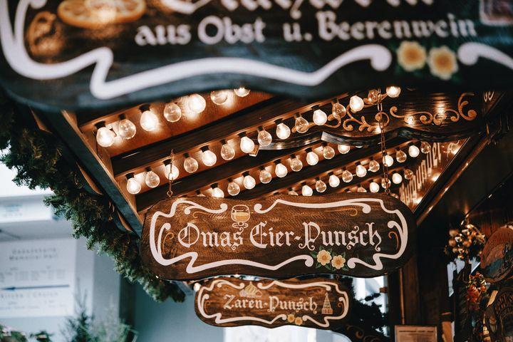 weihnachten, gluehwein, kaffee, kuchen, kinder