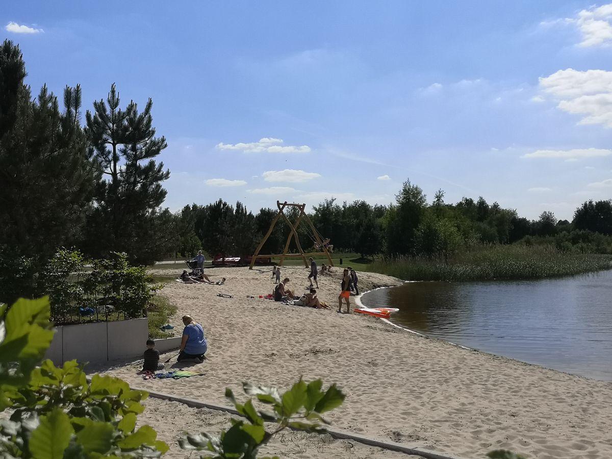 Strand und See beim EMSLAND-CAMP