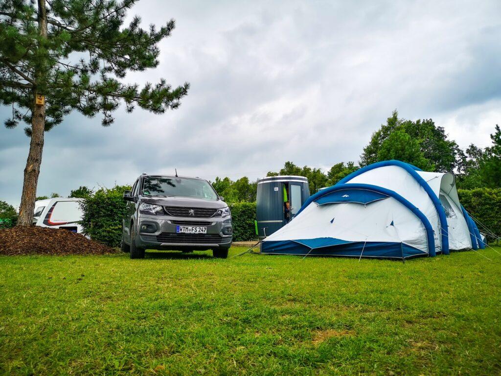 Wiesenfass - für Bullis/Vans und Zelte