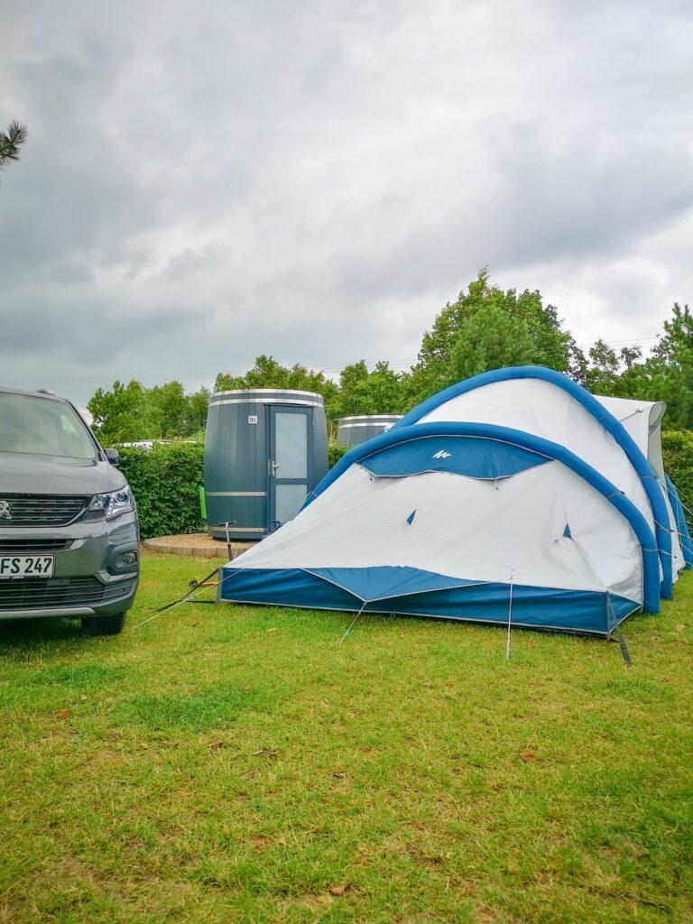 Wiesenfass für Zelte und Bullis