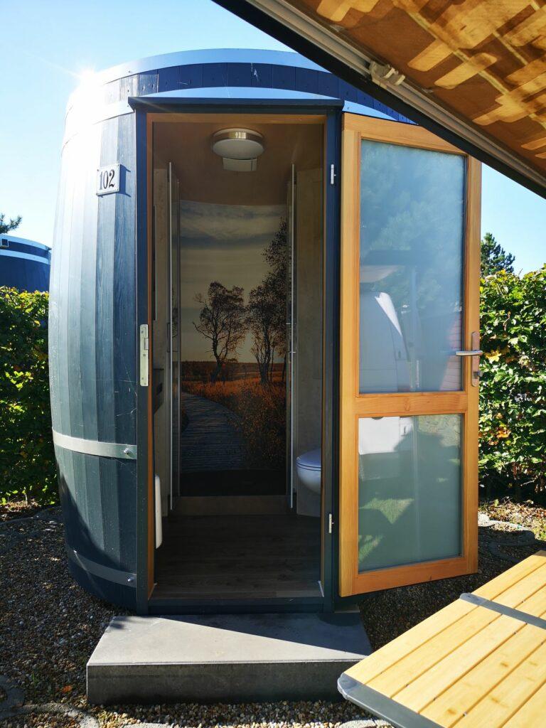 Wiesenfass - Familienbad für Bulli oder Zelt